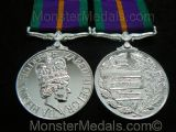 ACCUMULATED CAMPAIGN SERVICE MEDAL FULL SIZE REPLACEMENT COPY (ACSM)